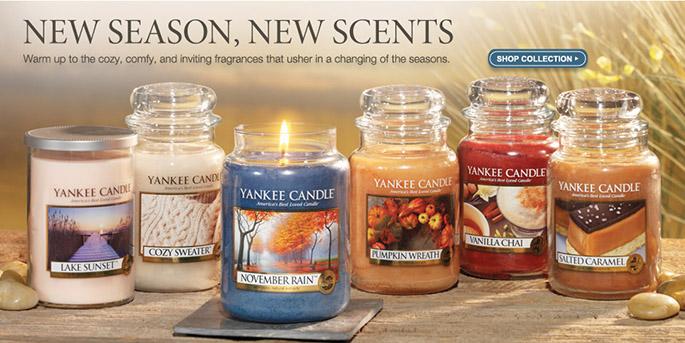 Yankee kvepiančios žvakės