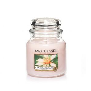 """YC vidutinė žvakė stiklainėlyje """"CHAMPACA BLOSSOM"""" 1302675E"""