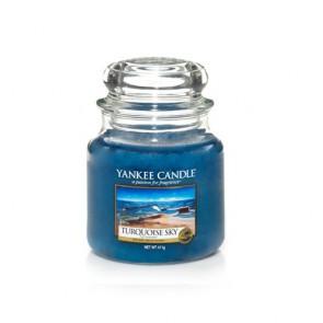 """YC vidutinė žvakė stiklainėlyje """"TURQUOISE SKY"""" 1254030E"""