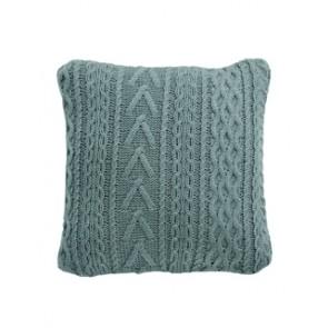 Šviesiai pilka megzta pagalvėlė 31015