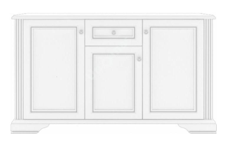 WHITE komoda 3D1S white-komoda-3d1s